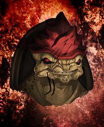 Mass Effect - Urdnot Wrex by Pachabel