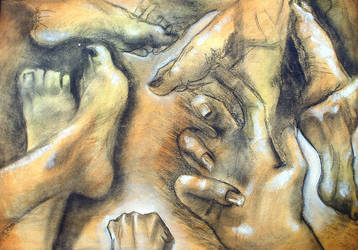Michelangelo Study by armyangel