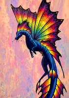 insane color dragon by drosera-sundews