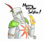 Merry Winter Solstice! by ART-RevolveR
