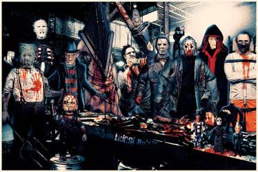 Horror Dream Team by luiggi26