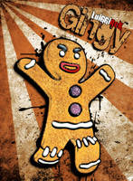 Shrek - Gingy by luiggi26