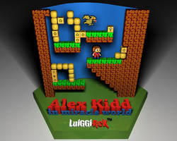 Alex Kidd by luiggi26