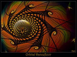 Orbital Dancefloor by Brigitte-Fredensborg