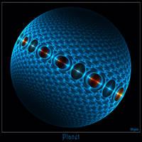 027 - Planet by Brigitte-Fredensborg