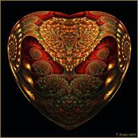 Unrest Heart by Brigitte-Fredensborg