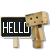 Danbo says Hello
