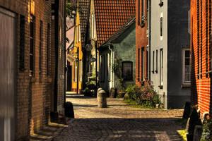 Eckernfoerde - Old Town by Brigitte-Fredensborg