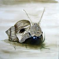 Die geknebelte Schnecke by furorisa