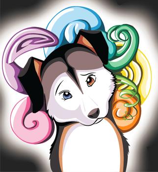 Confused Doggie Vector by KatRaccoon
