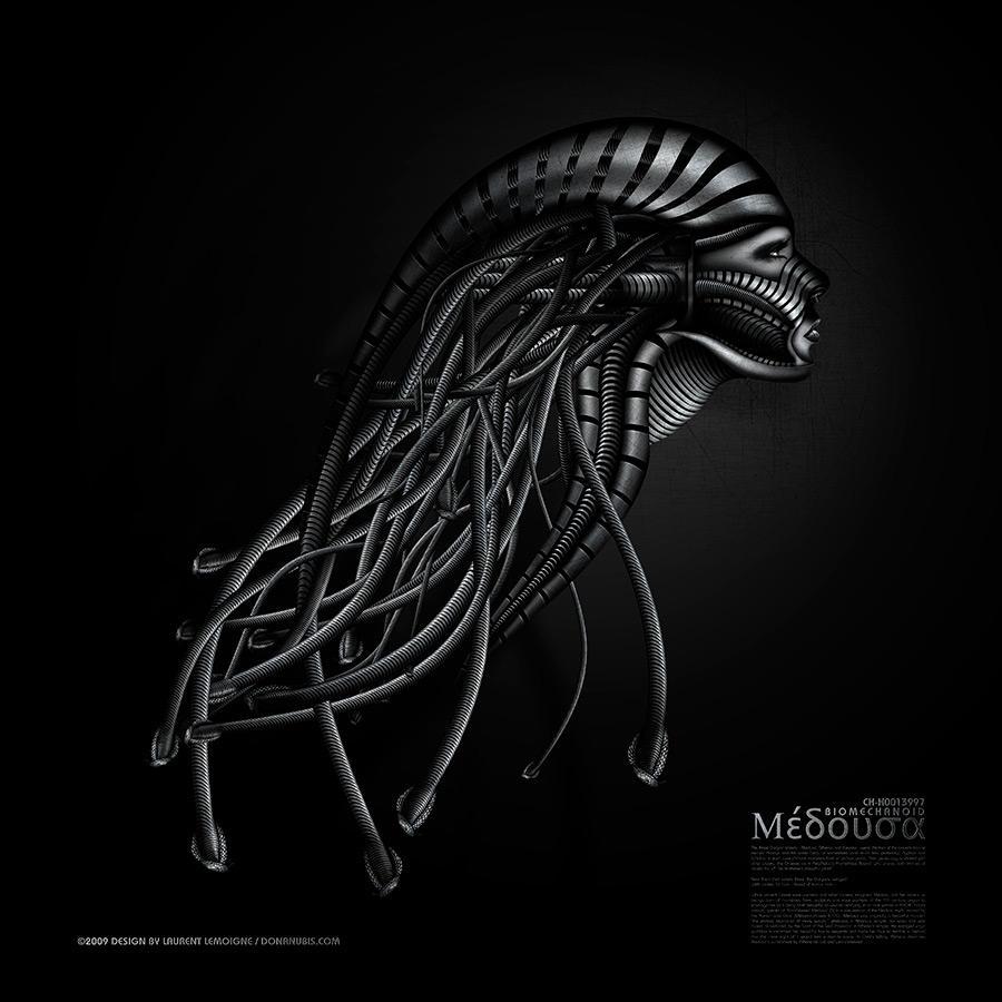 ::: BioMechanoid Medusa ::: by donanubis