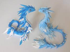 Dragons d eau by krisclay74
