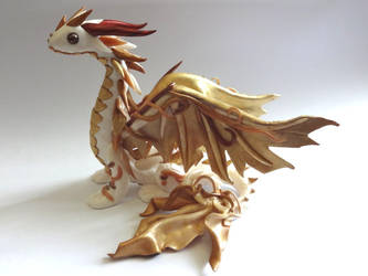 Gold dragon by krisclay74
