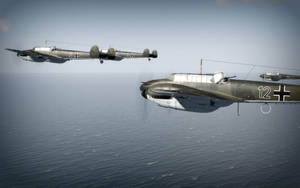 Bf-110's by TarJakArt