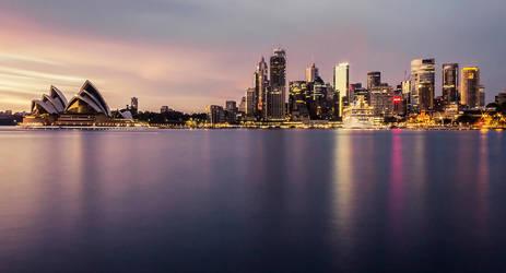 Shining Sydney by TarJakArt