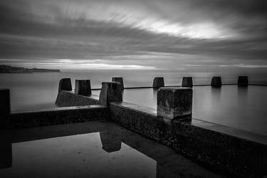 Ross Jones Pool BW by TarJakArt