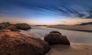 South West Rocks Sunrise by TarJakArt