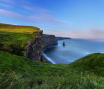First light at Cliffs of Moher by TarJakArt