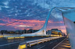 Samuel Beckett Bridge, Dublin by TarJakArt