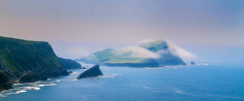 Puffin Island by TarJakArt