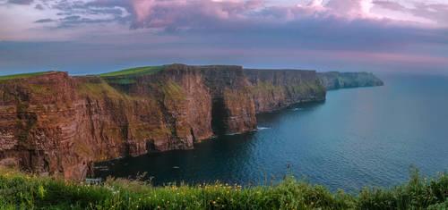 Cliffs of Moher by TarJakArt