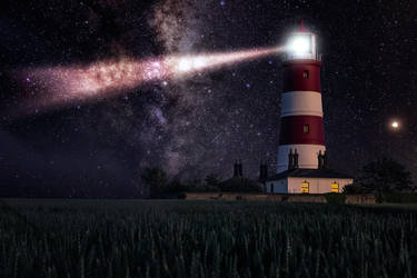 Lighthouse of your soul by TarJakArt