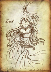 The Bard by baka-shironeko