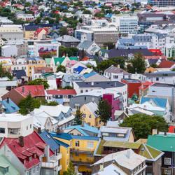 Colorful Reykjavik by vlad-m