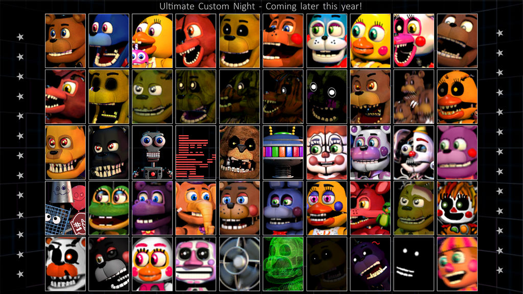 Fnaf World Roster