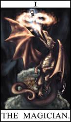 Drawmelot Tarot Magician by Semiramis