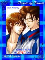 2345 Hits-Fuji and Tezuka by Lynling