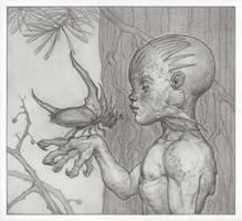 Curious boy by Maria-Anatolievna
