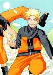 training sage naruto by emukcs