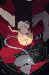 Fullmetal Alchemist by BottleWonderland