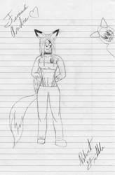 Female Andre by furryman223