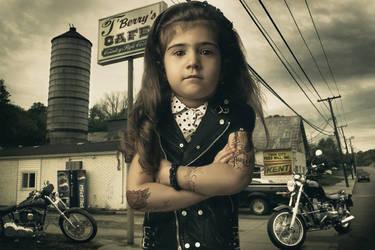 little biker by Grinch7