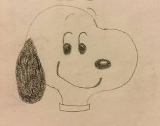 Snoopy by draw-laru