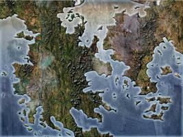 Fantasy Blank Map  by Sedeslav
