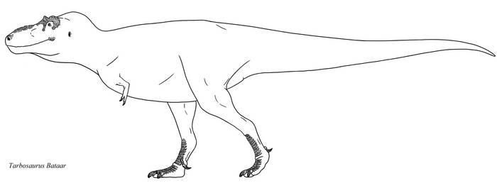Tarbosaurus the Mongolian tyrant by KaprosuchusDragon