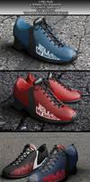 Realistic Sneakers Mock-Ups by KILVAM
