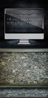 10 Different Wall Backgrounds by KILVAM