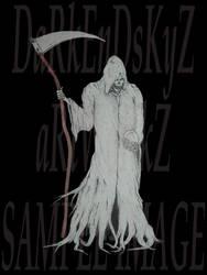 Reaper holding skull by ALWCustomDesign
