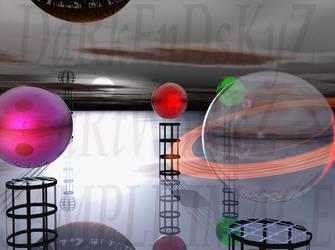 icy spherical digital photo by ALWCustomDesign