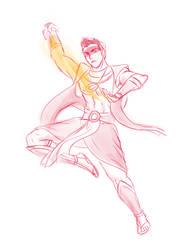 Sun Warrior Mako by elven-thespian