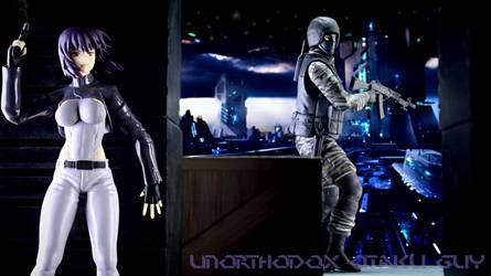 Motoko Rooftop Infiltration (Remastered) by PunkBMXartist