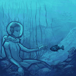 Underwater by Krepf
