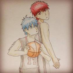 Kuroko and Kagami by CharizardLikesChez