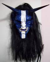 Oni Mask Blue by mostlymade