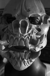 WIP Jersey Devil Skull by mostlymade