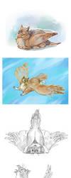 Gryphoncat by Drkav